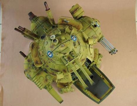 Designer Michael Sng creates a 435-part 3D printed walking tank | Heron | Scoop.it