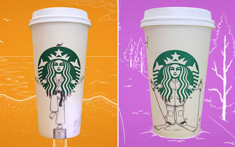 La vie secrète de la sirène Starbucks | All things marketing | Scoop.it
