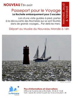 Passeport pour le voyage à La Rochelle : visite thématique avec l'office de tourisme, août 20123   Musée du Nouveau Monde   Scoop.it