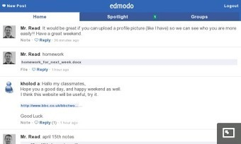 Mobile ESL: Edmodo: an educational alternative to Twitter | ICT Skills for EFL Teachers | Scoop.it