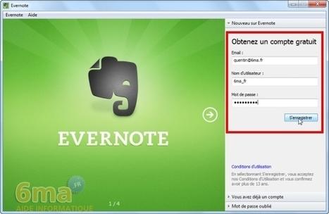 Tutoriel : prenez des notes et stockez les en ligne avec Evernote | Evernote, gestion de l'information numérique | Scoop.it