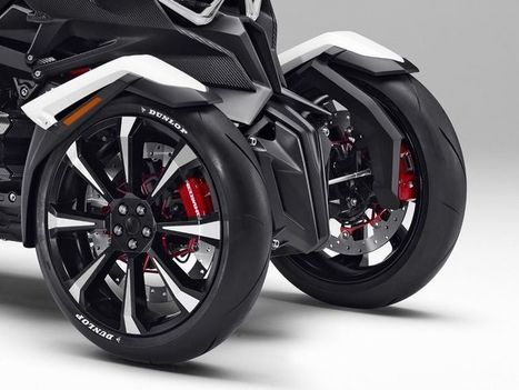 The Honda Neowing Is The Trike You Didn't Know You Wanted - Yahoo Autos | Piques My Interest | Scoop.it