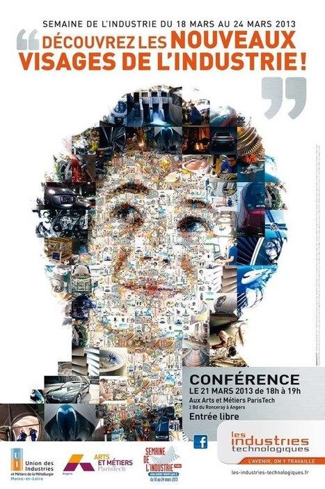 """#Angers Conférence """"Découvrez les nouveaux visages de l'industrie""""   Facebook   égalité professionnelle homme-femme   Scoop.it"""