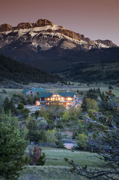 Breathtaking $10 Million Property In Protected Wildlife Area: Sun River Ranch   Extreme Architecture   News, E-learning, Architecture of the future at news.arcilook.com   Architecture news   Scoop.it