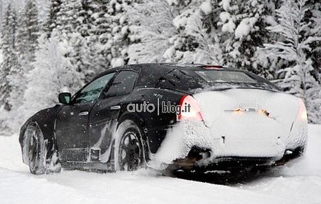 De nieuwe Maserati Ghibli gespot in de sneeuw | AutoItalia.nl | UIT DE KRANTEN BY PATRICIA FAVETTA | Scoop.it