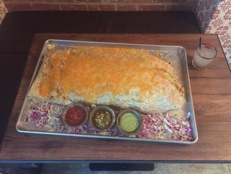 Finish This 30-Pound Burrito in One Hour And You Become Part-Owner of a Brooklyn Restaurant | Strange days indeed... | Scoop.it