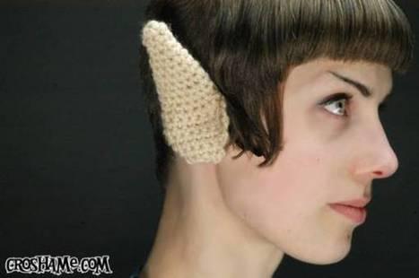 Crocheted Vulcan ears | OK, that's just weird! | Scoop.it