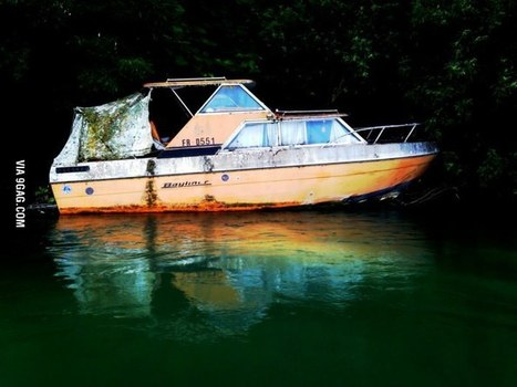 Discovered an abandoned ship | Modern Ruins, Decay and Urban Exploration | Scoop.it