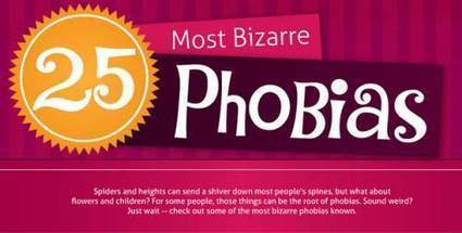 Check Out These 25 Bizarre Phobias [Infographic] | Spider Phobias | Scoop.it