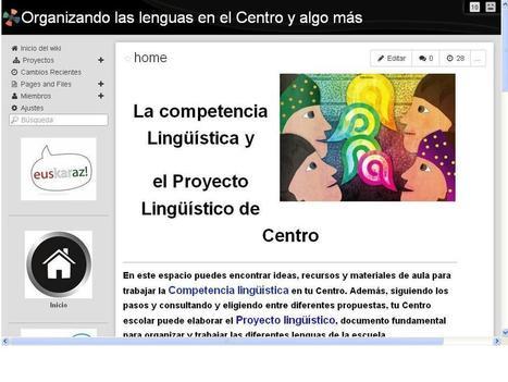 Actualizando  el Proyecto Lingüístico de Centro | Recull diari | Scoop.it