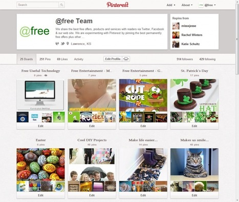 You have a new Pinterest profile page, and your bio may be incomplete. | LL Social | Everything Pinterest | Scoop.it