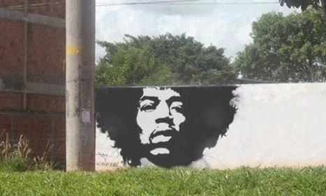 Quand le street art investit les villes en cohabitant avec la nature | Art Urbain | Scoop.it