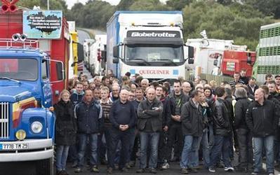 Écotaxe et agroalimentaire. Revivez la journée d'action en Bretagne - Économie - ouest-france.fr | Agroalimentaire-bretagne | Scoop.it