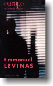 Le nouveau numéro d'Europe, consacré à Emmanuel Levinas | ALIA - Atelier littéraire audiovisuel | Scoop.it