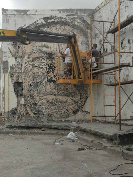 New Portraits Chiseled Out of Walls by Vhils | Creative Portugal | Scoop.it