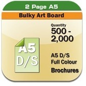 500-2000 A5 Double Sided Full Colour Brochures | online printings Australia | Scoop.it