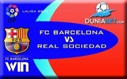 SBOBET Indonesia Prediksi Pertandingan : Barcelona vs Real Sociedad — Agen SBOBET Casino Online Indonesia | Pemasaran | Scoop.it