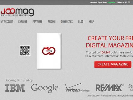 Joomag, créer un magazine numérique en ligne | TICE et formation FOS | Scoop.it