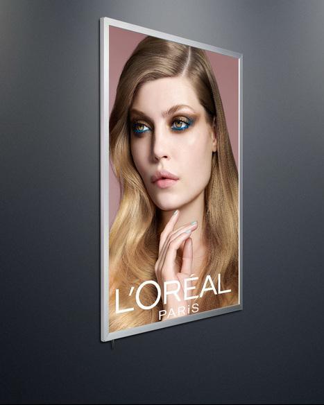 Snap Poster Frame with LED Lights | Snap Frame Box | Snap Frame Poster Holder | Print Media And Web Media | Scoop.it