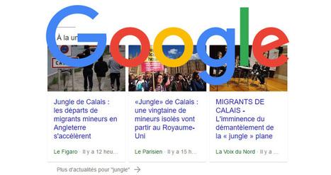 Google Actualités : un nouvel affichage en test dans les SERPs Desktop ! | SEO | Scoop.it