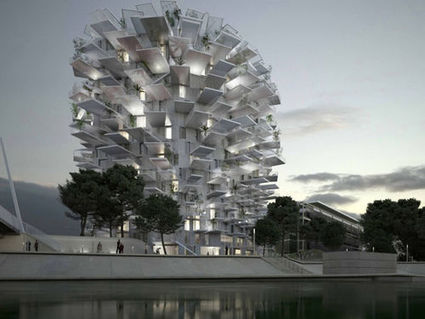 L'Arbre Blanc, la tour futuriste de Montpellier | Tout le web | Scoop.it