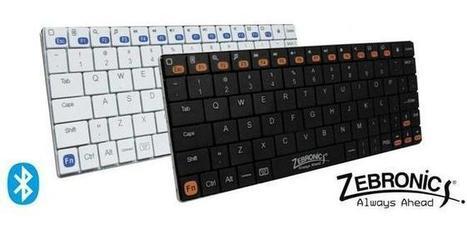 Zebronics unveils ultra-portable Bluetooth Keyboard - Kerala IT News | kerala | Scoop.it