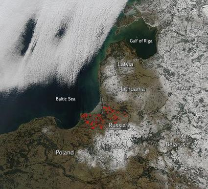 Wildfires Amidst Winter Snow on Russia's Baltic Shores | GarryRogers Biosphere News | Scoop.it