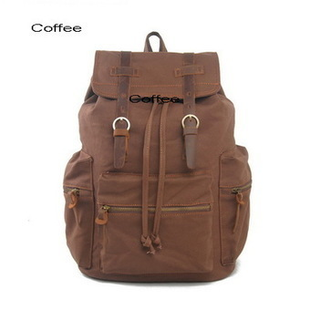 Stylish canvas school sucksack | rugged laptop backpacks bag from Vintage rugged canvas bags | Collection of backpack | Scoop.it
