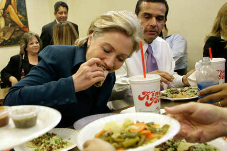 Everything You Wanted to Know About Hillary's Trip to Chipotle (But Were Afraid to Ask) | Back Chat | Scoop.it