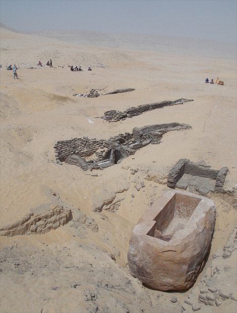 Giant Sarcophagus leads archaeologists to Tomb of a Previously Unknown Pharaoh | Aladin-Fazel | Scoop.it