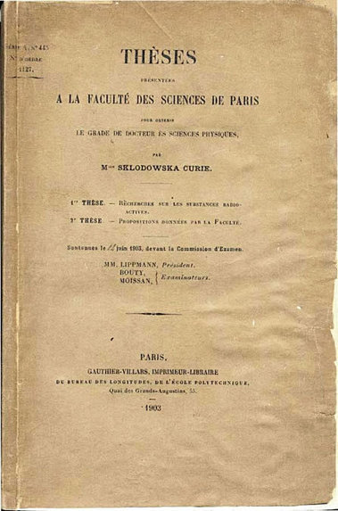Alain Bouquet - Radioactivité: les Curie   Marie Curie   Scoop.it
