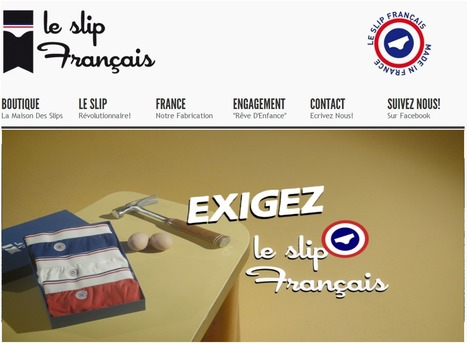 """INSOLITE : Lemahieu lance """" un slip parfumé"""" made in France 