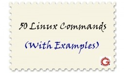 50 Most Frequently Used UNIX / Linux Commands (With Examples) | TIPS LINUX | Scoop.it