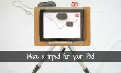 Make an iPad tripod - iPad - Craft | Articles | Scoop.it