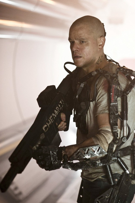 Matt Damon's Elysium Is an Action Movie for the 99 Percent - Vulture | JMC Animation & Games | Scoop.it
