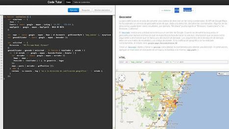 Geoinformación: Tutorial interactivo para crear aplicaciones con el API de Google Maps | Noticias, Recursos y Contenidos sobre Aprendizaje | Scoop.it
