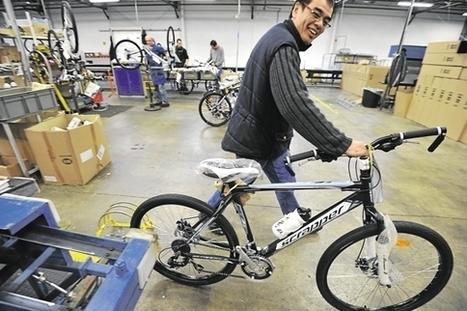 Intersport fait le pari du vélo made in France - Les Échos | made in france youpi | Scoop.it