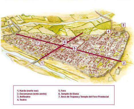 Ciudad romana: Merita Augusta | José Ignacio Casado Hernanz: Roma en España | Scoop.it
