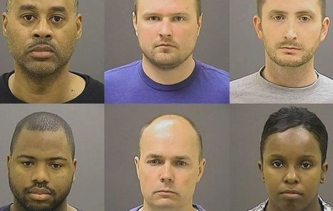 'Released on bail, From obscurity to notoriety, the six officers accused in the death of Freddie Gray' | News You Can Use - NO PINKSLIME | Scoop.it