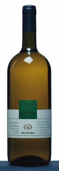 Verdicchio di Matelica 2012 Poggio alle Rondini - Cantine Belisario | Wines and People | Scoop.it