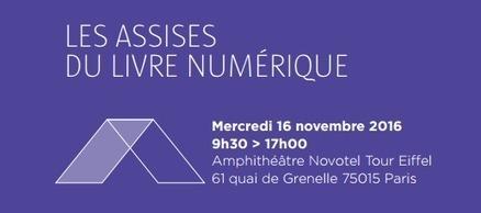 17ème Assises du Livre Numérique le 16 novembre 2016 à Paris - Numipage | L'édition numérique pour les pros | Scoop.it