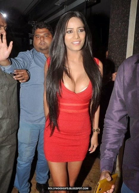 Hot Bollywood Gifs: Is This Sizzling Red Dress Poonam Pandey's Hottest Look of All Time?   Bollywood Glitz 24- Hot Bollywood Actress   Scoop.it