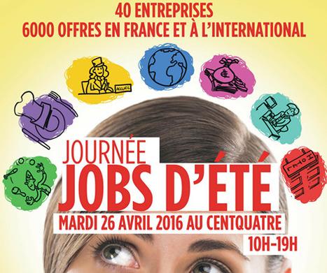 Journée Jobs d'été 2016 à Paris : 40 entreprises / 6000 offres de jobs - Jobs d'été 2016 | Actu de l'emploi et du monde de l'entreprise à Saint-Quentin-en-Yvelines et ses environs par InfodocSQY | Scoop.it