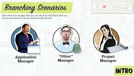 How to Design Branched E-Learning Scenarios | eLearning | Scoop.it