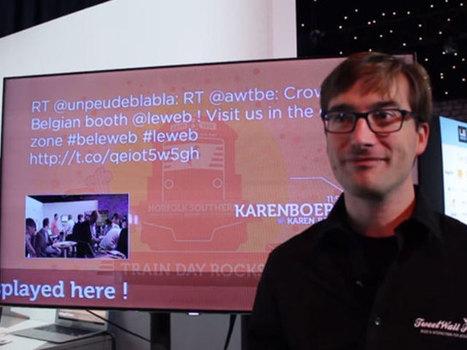 TweetWall Pro, pour faire le buzz sur les réseaux sociaux | Social Media Curation par Mon Habitat Web | Scoop.it