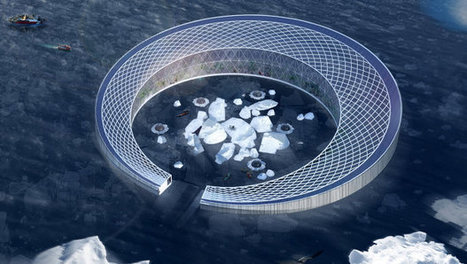 This Giant Floating Farm Uses Melting Icebergs To Bring Local Food To Greenland | nature tech | Scoop.it
