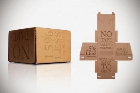[Prospective] Grâce à 2 étudiants, le monde du carton pourrait être en pleine (r)évolution - Maddyness | Digital surroundings | Scoop.it