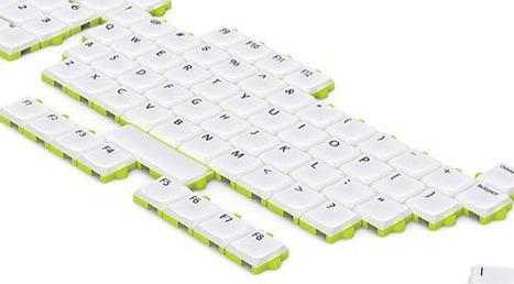 Puzzle Keyboard Concept lets you rearrange Keys | Puzzle keyboard | NewHiTechGadgets | Scoop.it