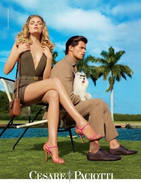 Cesare Paciotti Spring 2012 Ad Campaign - Lily Donaldson | Le Marche & Fashion | Scoop.it