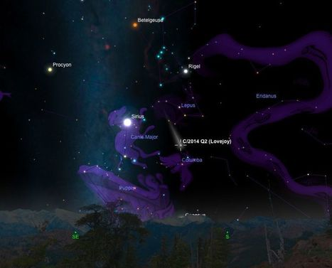 Watch the New Year's Skies for a Green Comet | La poma de Newton | Scoop.it